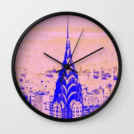 Intensity of Dreams II Wall Clock