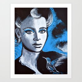 Jenna Art Print
