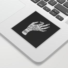 Palm Reading Sticker