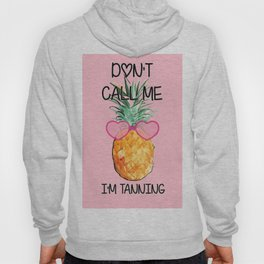 Cool Pinapple with Glasses Hoody