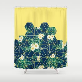 Tropical Tiles #society6 #decor #buyart Shower Curtain