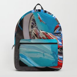 Turquoise and Cream Dream by Teresa Thompson Backpack