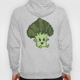 Baby Broccoli | Cute And Green Vegan Plant Hoody
