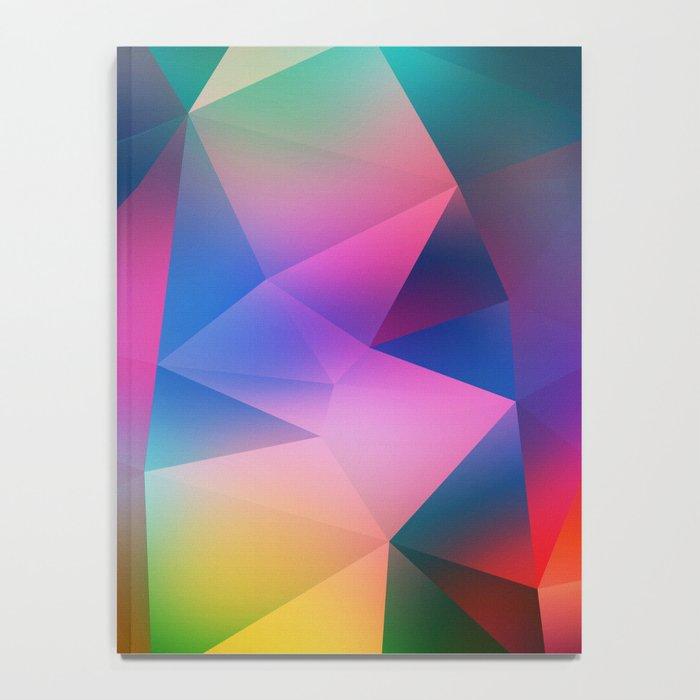 Crystal pattern Notebook