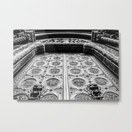 The Lion's Gate Metal Print