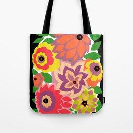 CAMBRIA, ART DECO FLORALS: TROPICANA Tote Bag