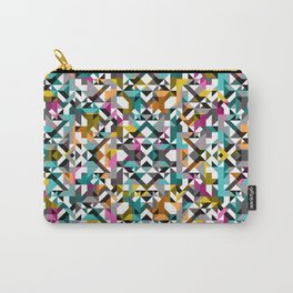 Aztec Geometric Reflection II Carry-All Pouch