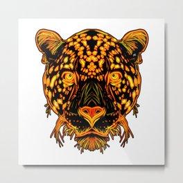 JaguarCat Metal Print