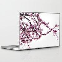 sakura Laptop & iPad Skins featuring sakura by MILDA HE