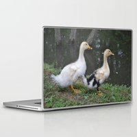ducks Laptop & iPad Skins featuring Ducks by Stephanie Owens