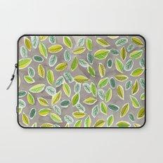 Leaf Watercolor Pattern by Robayre Laptop Sleeve