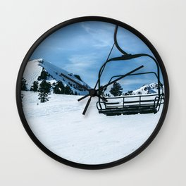 The Slopes Wall Clock