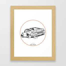 Crazy Car Art 0206 Framed Art Print