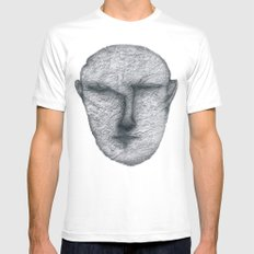 From dark MEDIUM Mens Fitted Tee White