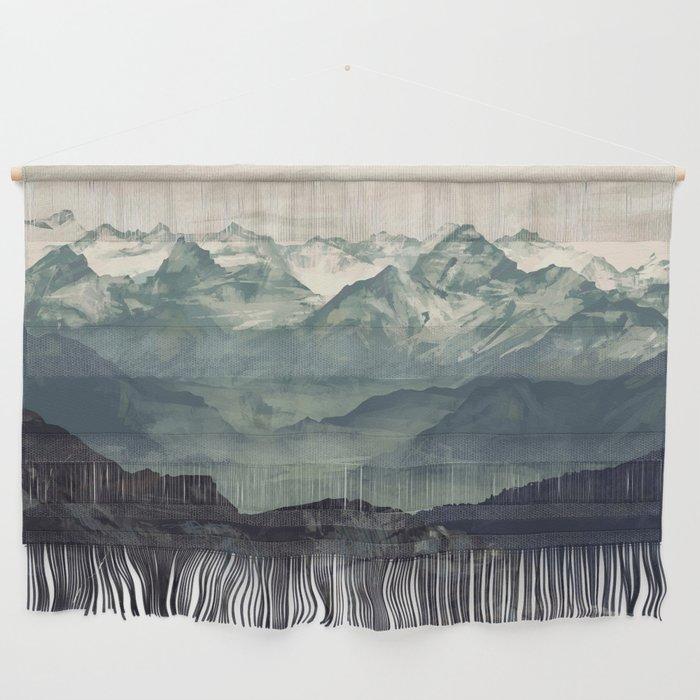 Mountain Fog Wall Hanging