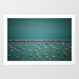 I'm On A Boat II Art Print