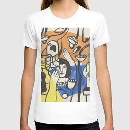 Fernand Leger Les Femmes au Perroquet T-shirt