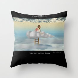 """""""Valparaiso"""" Illustration Denis Dubois Throw Pillow"""