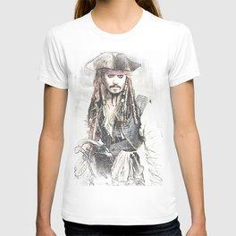 Cpt. Jack Sparrow 2 T-shirt