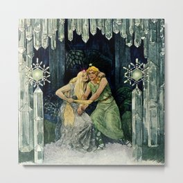 Fairy Tales for Adults by Artus Schneider Metal Print