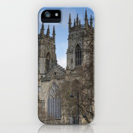 Towers of York Minster iPhone Case