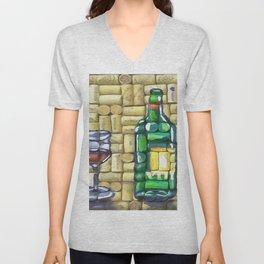 The Wine Tasting Unisex V-Neck