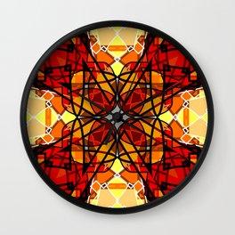 Vibrant Continuity Wall Clock