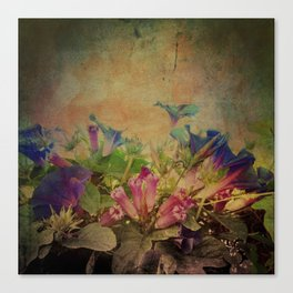Flowers have music for those who will listen Canvas Print