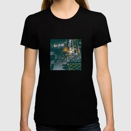 Night walking street 4 T-shirt