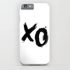 XO HUGS AND KISSES TYPOGRAPHY Slim Case iPhone 6s