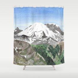 The Heart of Washington Shower Curtain