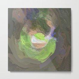 Abstract Mandala 144 Metal Print