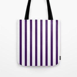 Purple Thin Vertical Stripes | Digital Design | Pattern Tote Bag