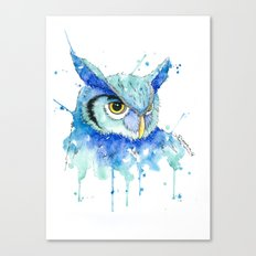 Color Hedwig  Canvas Print