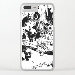 Pokelife Clear iPhone Case