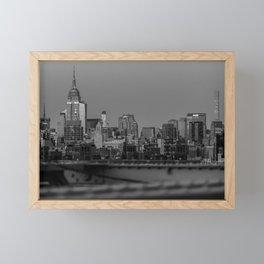 Quintessential New York Framed Mini Art Print