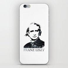 Franz Liszt iPhone & iPod Skin