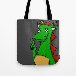 Peace Out, Dragon Snout | Veronica Nagorny Tote Bag