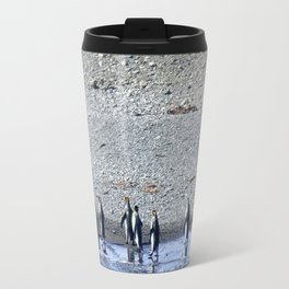 Paddling Penguins Travel Mug