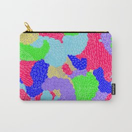 Multicolor Paisleys  Carry-All Pouch