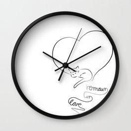 Remain Wall Clock