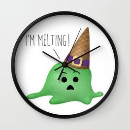 I'm Melting! Wall Clock
