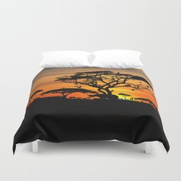 The ancient name of Africa was Alkebulan Duvet Cover