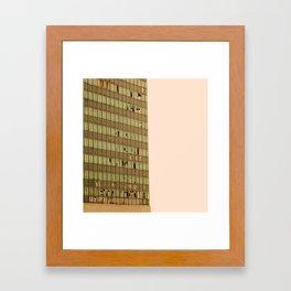 composizione numero uno  Framed Art Print
