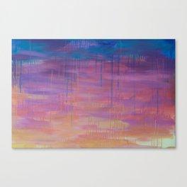 Miami Sunset Canvas Print