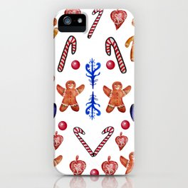 Christmas Sweets iPhone Case