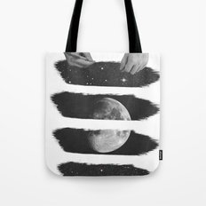 Draw me the moon Tote Bag