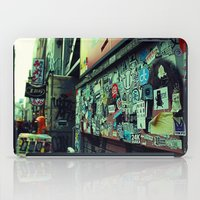 stickers iPad Cases featuring Urban Stickers by Martin Sturk