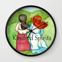 Kindred Spirits Anne of Green Gables Wall Clock