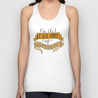 leslie knope Tank Tops featuring Leslie Knope by Illustrated by Jenny